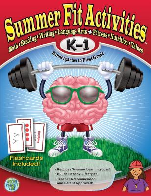 Summer Fit, Grades K-1 Cover