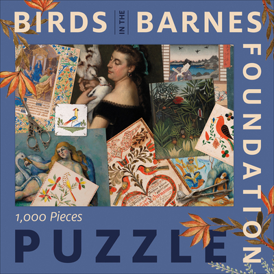 Birds in the Barnes Foundation: 1,000-Piece Puzzle Cover Image