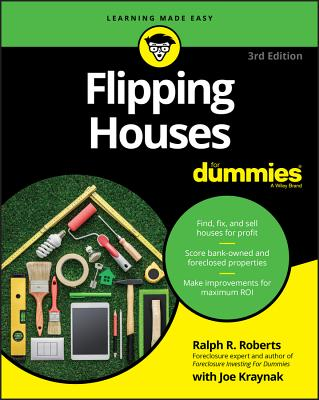 Flipping Houses for Dummies (For Dummies (Lifestyle)) Cover Image