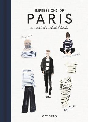Impressions of Paris: An Artist's Sketchbook Cover Image