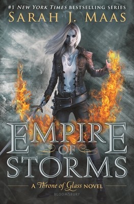 Empire of Storms (Throne of Glass) Cover Image