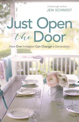 Cover for Just Open the Door