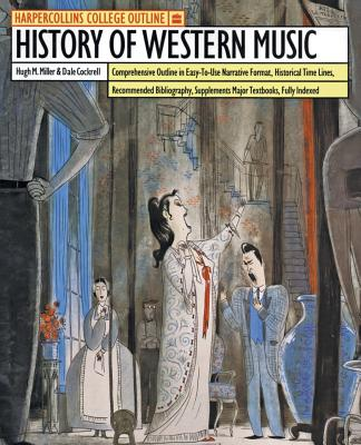 HarperCollins College Outline History of Western Music Cover Image