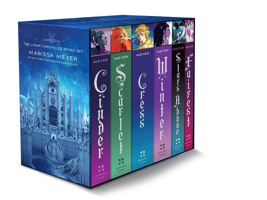 The Lunar Chronicles Boxed Set: Cinder, Scarlet, Cress, Fairest, Stars Above, Winter Cover Image