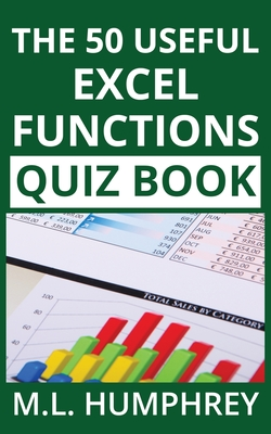 The 50 Useful Excel Functions Quiz Book Cover Image