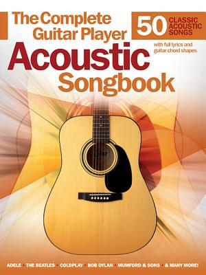 Complete Guitar Player Acoustic Songbook Cover Image