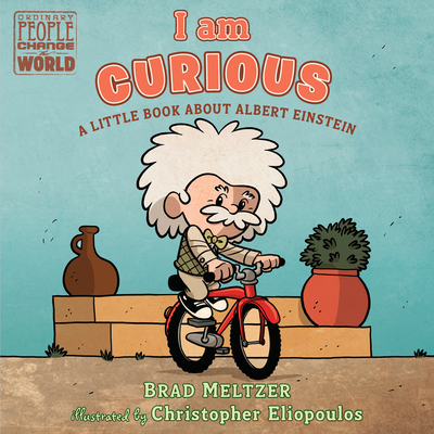 I am Curious: A Little Book About Albert Einstein (Ordinary People Change the World) Cover Image