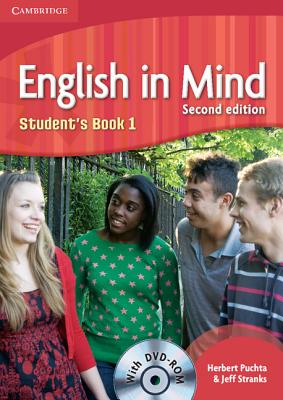 English in Mind Level 1 Student's Book with DVD-ROM Cover Image