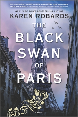 The Black Swan of Paris: A WWII Novel Cover Image