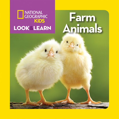 National Geographic Kids Look and Learn: Farm Animals (Look & Learn) Cover Image