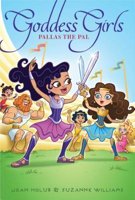 Cover for Pallas the Pal (Goddess Girls #21)