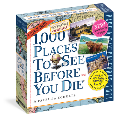 1,000 Places to See Before You Die Page-A-Day Calendar 2021 Cover Image
