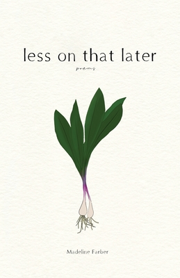 less on that later Cover Image