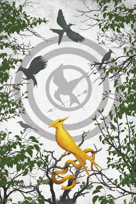 The Ballad of Songbirds and Snakes Blank Writing Journal (Hunger Games) Cover Image