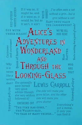 Alice's Adventures in Wonderland and Through the Looking-Glass (Word Cloud Classics) Cover Image