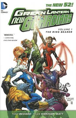Green Lantern New Guardians Cover