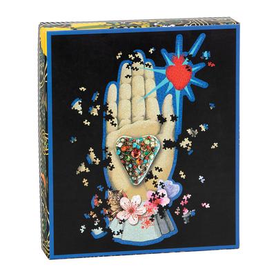 Christian Lacroix Heritage Collection Maison de Jeu 750pc Shaped Puzzle Cover Image