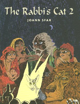 The Rabbi's Cat 2 Cover