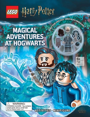 LEGO(R) Harry Potter(TM): Magical Adventures at Hogwarts (Activity Book with Minifigure) Cover Image