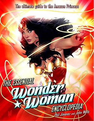 The Essential Wonder Woman Encyclopedia Cover Image