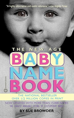 The New Age Baby Name Book Cover Image