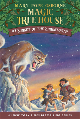 Sunset of the Sabertooth (Magic Tree House #7) Cover Image