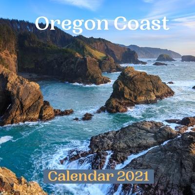 Oregon Coast Calendar 2021 Cover Image