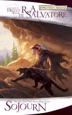 Sojourn (The Legend of Drizzt #3) Cover Image