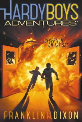 Deception on the Set (Hardy Boys Adventures #8) Cover Image