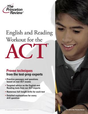 English and Reading Workout for the ACT Cover