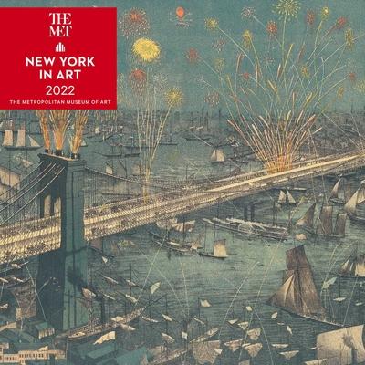 New York in Art 2022 Wall Calendar Cover Image