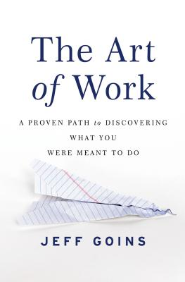 Cover for The Art of Work
