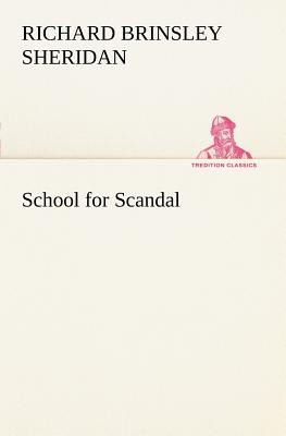 School for Scandal Cover Image
