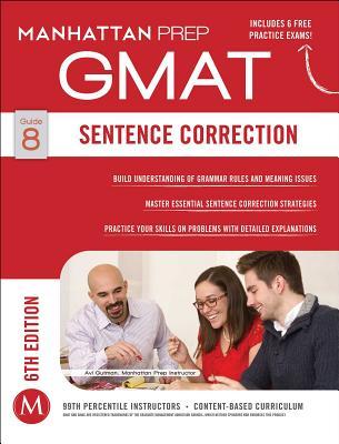 GMAT Sentence Correction (Manhattan Prep GMAT Strategy Guides) Cover Image