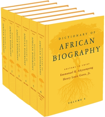 Dictionary of African Biography Cover Image