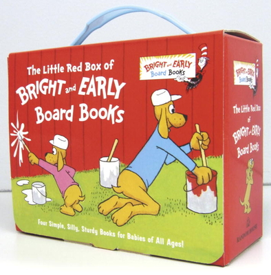 The Little Red Box of Bright and Early Board Books (Bright & Early Board Books(TM)) Cover Image