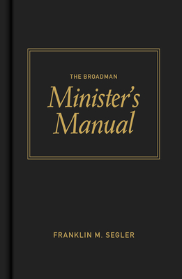 The Broadman Minister's Manual Cover