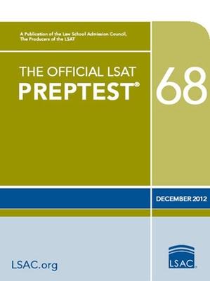The Official LSAT Preptest 68: Dec. 2012 LSAT Cover Image