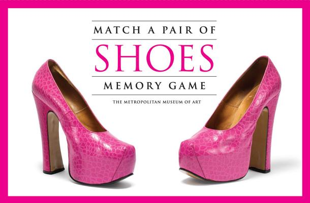 Match a Pair of Shoes Memory Game Cover Image