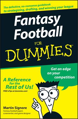 Fantasy Football for Dummies Cover Image