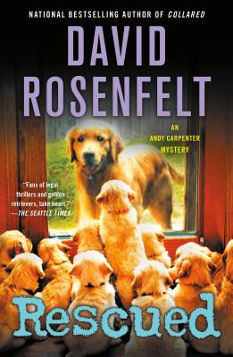 Rescued: An Andy Carpenter Mystery (An Andy Carpenter Novel #17) Cover Image