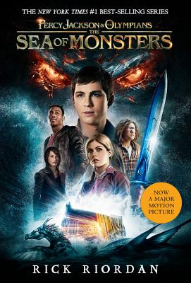 Percy Jackson and the Olympians, Book Two The Sea of Monsters (Movie Tie-In Edition) (Percy Jackson & the Olympians) Cover Image