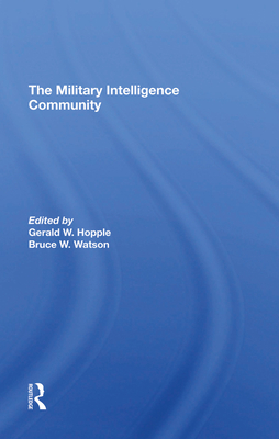 The Military Intelligence Community Cover Image
