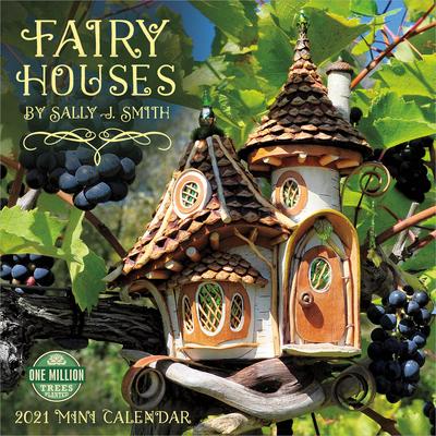 Fairy Houses 2021 Mini Calendar Cover Image