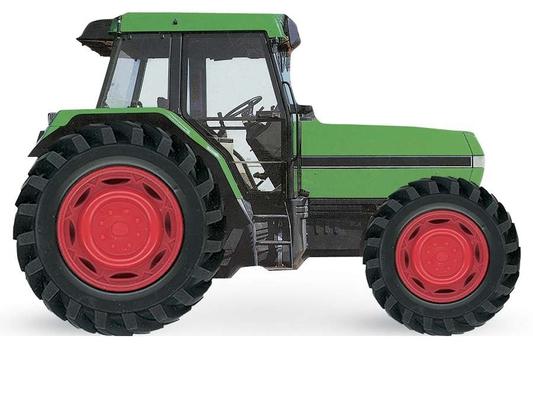 Tractor (Wheelie Books) cover