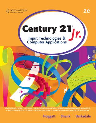 Century 21 Jr.: Input Technologies & Computer Applications Cover Image