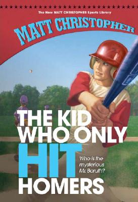 The Kid Who Only Hit Homers (New Matt Christopher Sports Library (Library)) Cover Image