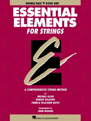 Essential Elements for Strings - Book 1 (Original Series): Double Bass Cover Image