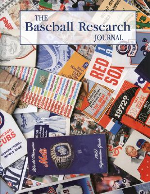 The Baseball Research Journal (BRJ), Volume 36 Cover Image