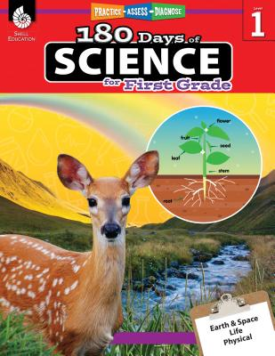 180 Days of Science for First Grade: Practice, Assess, Diagnose (180 Days of Practice) Cover Image